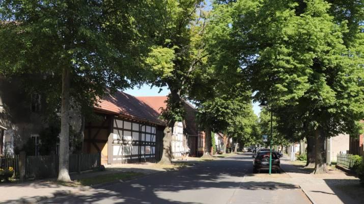 Dorfstraße in Schlepzig