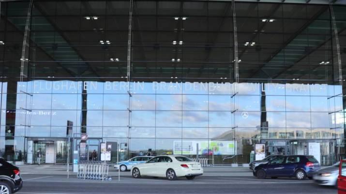 Haupthalle am Flughafen Berlin-Brandenburg