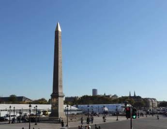 Der Place de la Concorde ist der größte Platz in Paris