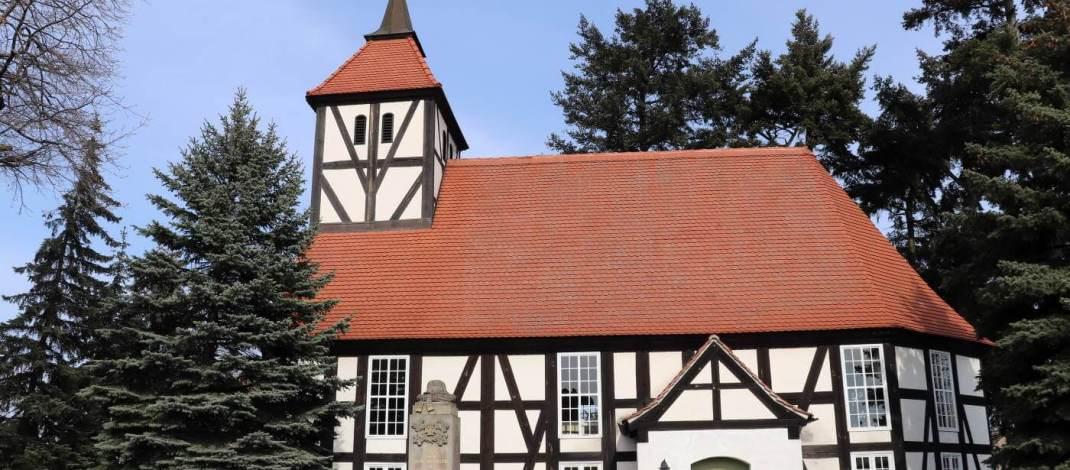 Die Autobahnkirche in Duben