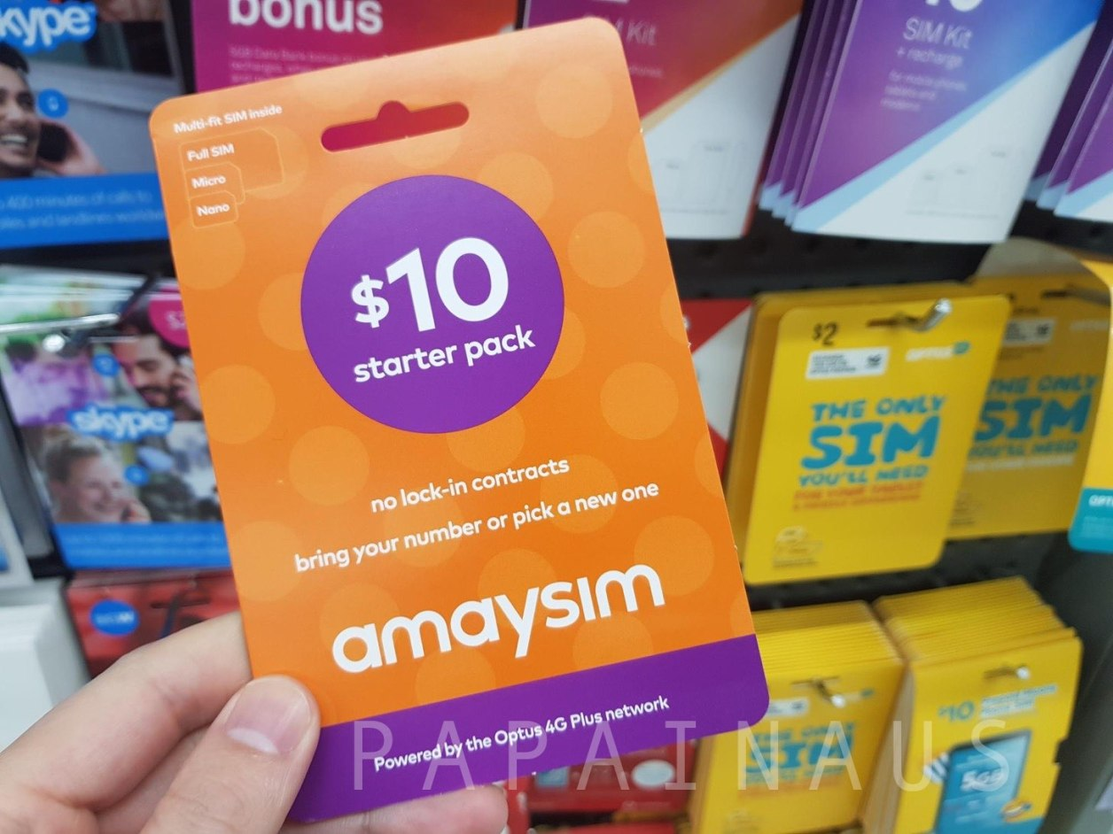 スーパーで買えるAmaysimのSIMカード