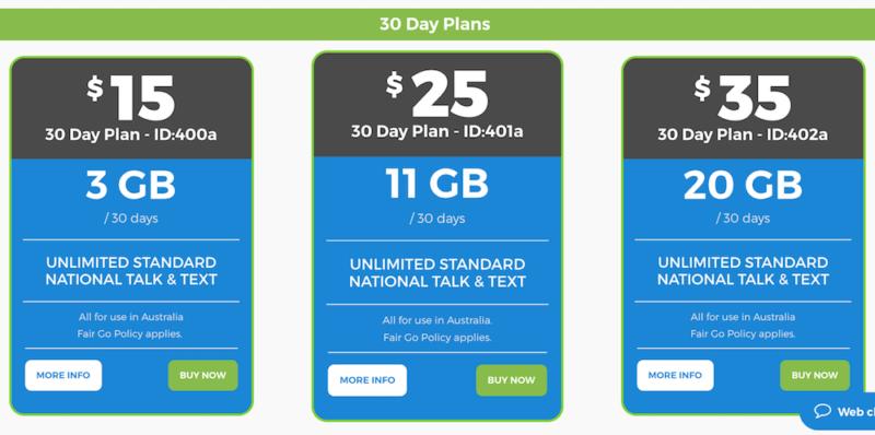 圧倒的に安くデータ量が豊富なCatch Connect。$15でも3GB使える