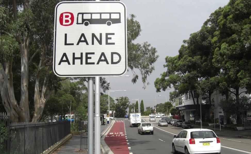 オーストラリアバス専用車線