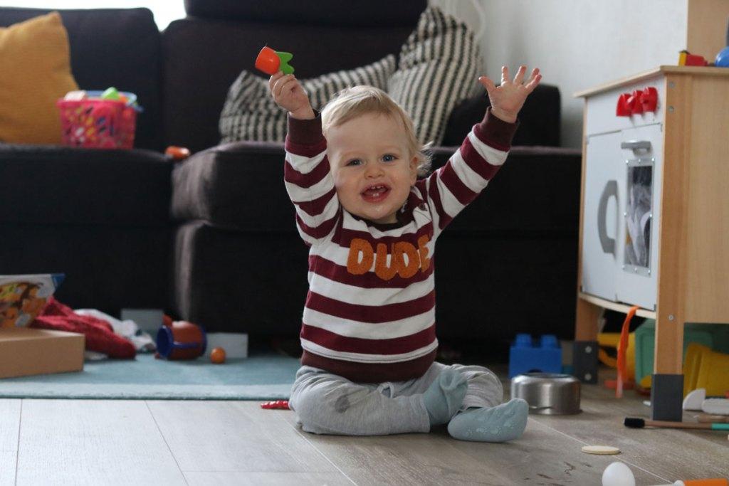 ontwikkeling baby kind na ziek zijn