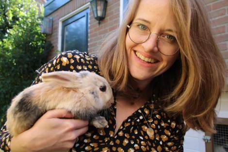 Twee konijnen man en vrouw?