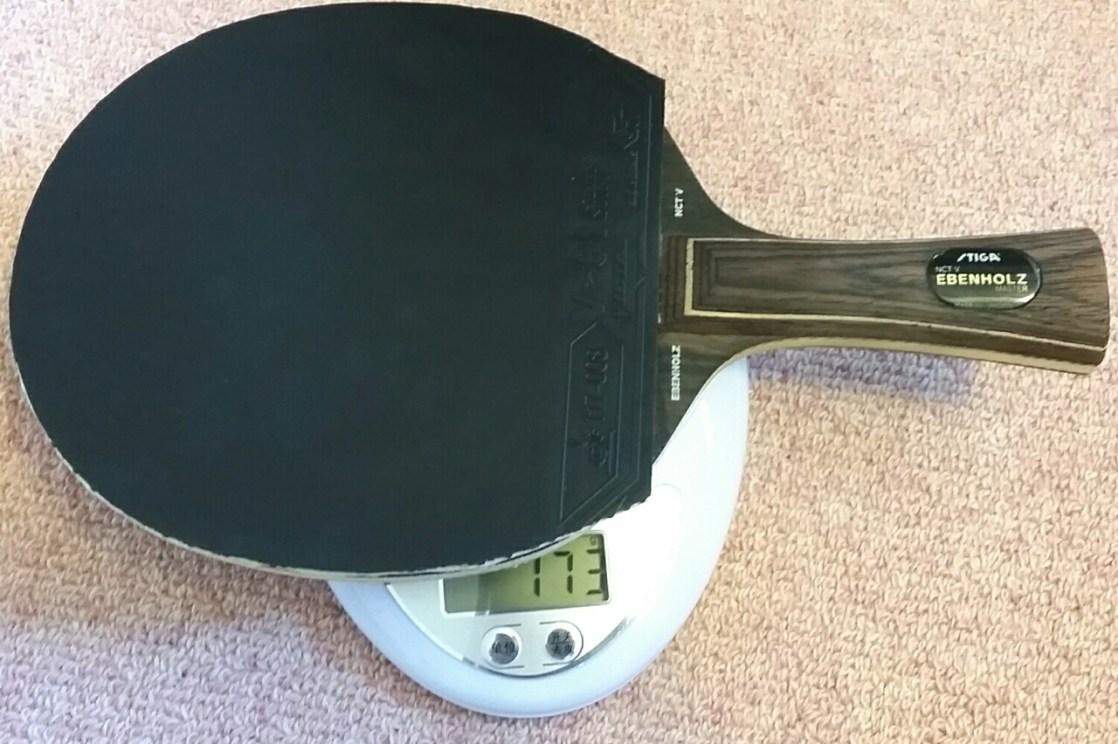 「ラケット卓球 重さ」の画像検索結果