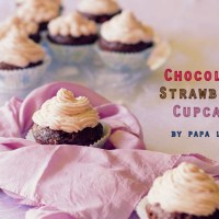 Chocolate Strawberry Cupcakes...
