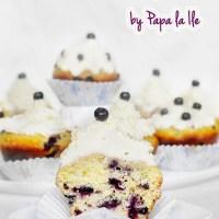 Blueberry Lemon Cupcakes...