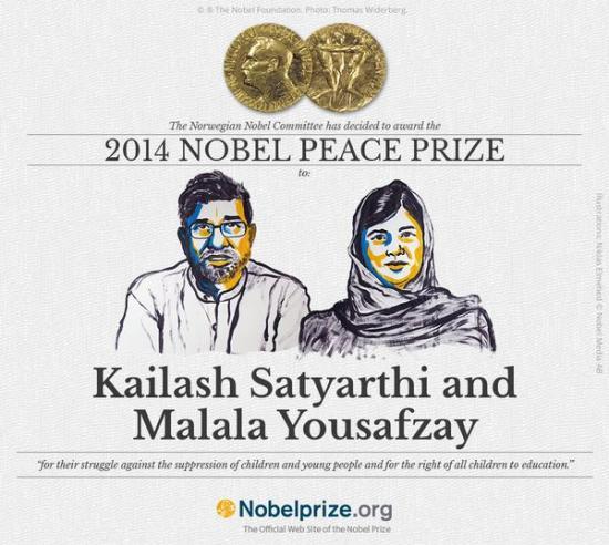 Friedensnobelpreis 2014