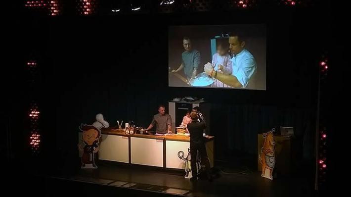 Hensslers Kinderkochshow  mit süßer Maus