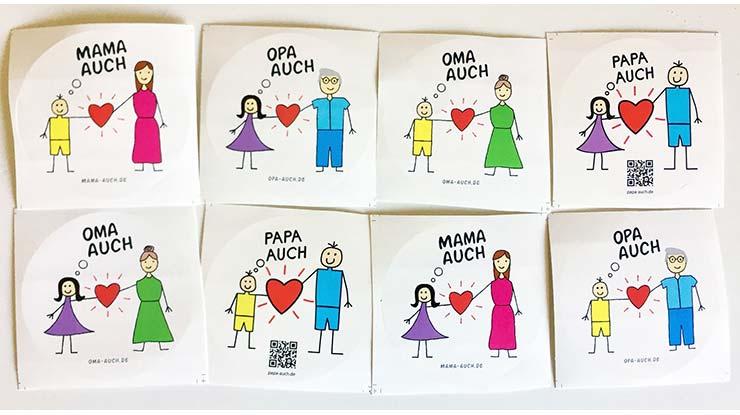 Bundesinitiative Großeltern: Mama auch und Papa auch und Oma auch und Opa auch