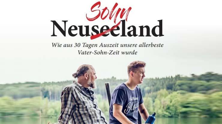 Buchcover: Neusohnland - Wie aus 30 Tagen Auszeit unsere allerbeste Vater-Sohn-Zeit wurde