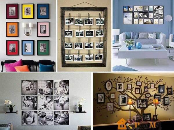 Полезные советы, как оформить стену фотографиями   Папа ...