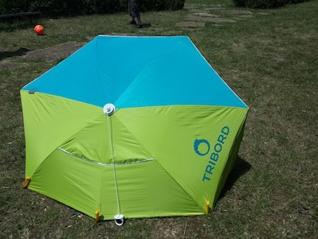 Test l 39 abri anti uv tribord de d cathlon - Decathlon tente plage ...