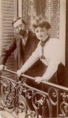 1900 - Marcel LANDRIEU (57) et Gabrielle FISCHER (x 57) au Havre