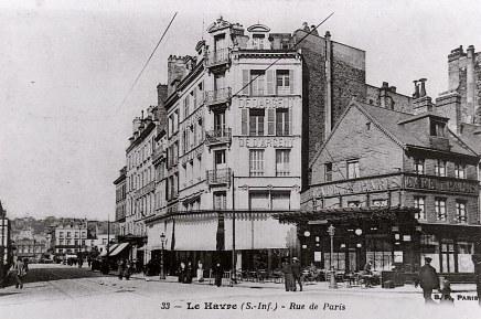 """# 1900 - Carte Postale : Magasin """"Dé d'Argent"""" au Havre"""