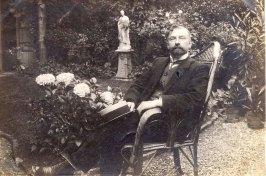 20 juillet 1908 - départ pour l'Allemagne - Gustave PADIEU (x 53)