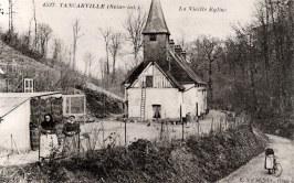 """Tancarville - La """"Vieille Église"""", relais de chasse de Charles LANDRIEU (5)"""