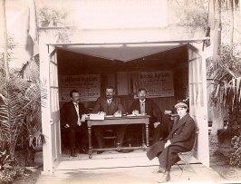 Juillet 1909 à Amiens, congrès de l'agriculture - Gustave PADIEU (x 53) (3ème à gauche)
