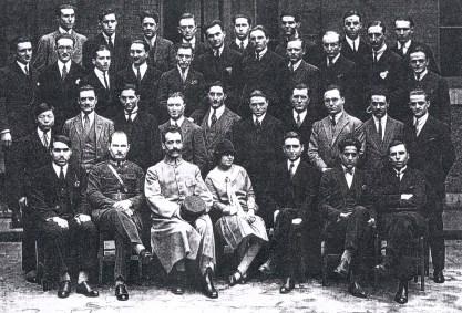 1925-1926 - René LANDRIEU (444) (3ème rang, 3ème à gauche), école SUPELEC de Paris