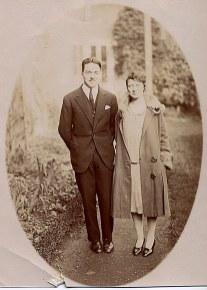 # 1928 - Jacques LANDRIEU (443) et son épouse Marie-Madeleine THEILLIER