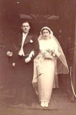 23 janvier 1935- Mariage de Lucien LANDRIEU (162) et de Marcelle BOUTEILLER