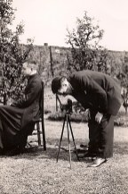 6 Mai 1937 - Lors d'une réunion à Aniche - Assis : Joseph (442) - le photographe : Max (441)
