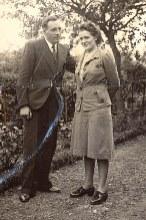 1941 - Fiançailles d'Henri LANDRIEU (163) et de Magdeleine VERDURE