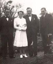 15 Décembre 1941 - Mariage d'Henri LANDRIEU (163) et de Magdeleine VERDURE