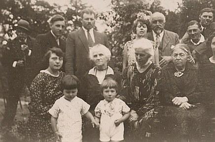 1929 - Denis, Gaston, Henri, Michel, Andrée , Raoul, Lucien, Noémie, Mathilde, Hélène, Marie, Jacqueline, Bernard