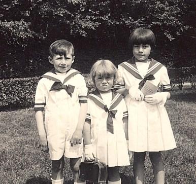 1935 - Bernard, Nicole et Jacqueline LANDRIEU