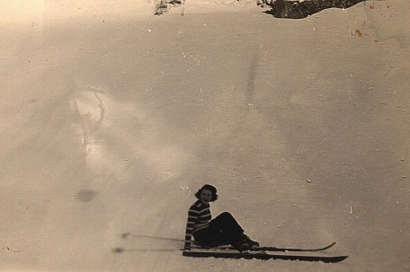 Janvier 1951 à Morzine - Nicole LANDRIEU (1712)