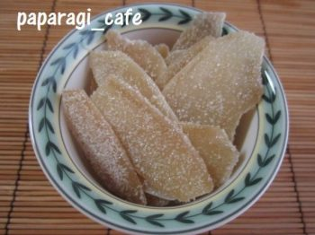 新生姜の砂糖漬-6