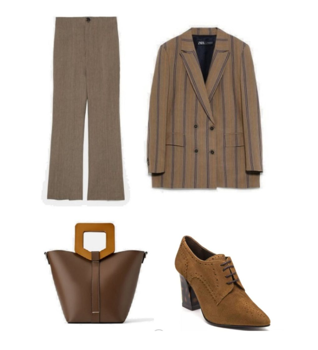 zapato abotinado marrón marca Paparazzo