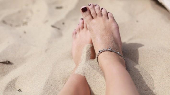 forma de pie común o romano