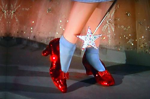 dorothy y sus zapatos rojos