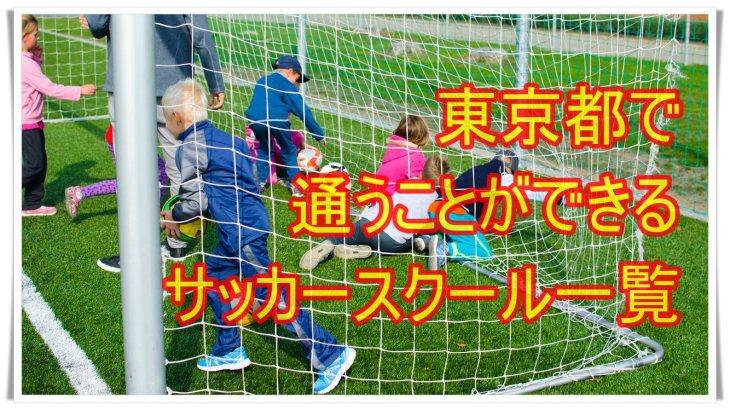 東京都で通うことができるサッカースクール一覧