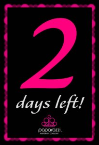 2 days left until the Paparazzi Jewelry party