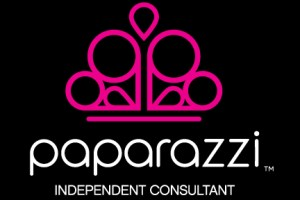 Paparazzi Accessories logo - black background