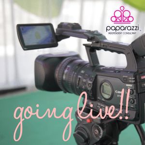 Going LIVE on Facebook - Paparazzi jewelry graphic