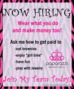 Now Hiring | Paparazzi Jewelry