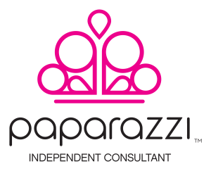 Paparazzi Accessories logo with clear background