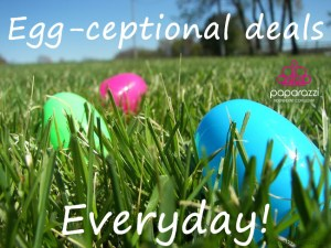 Egg-ceptional deals | Paparazzi Easter image