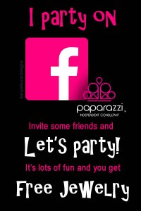 I party on facebook | Paparazzi jewelry