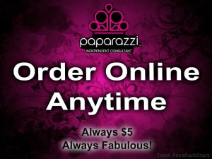 Order your Paparazzi Jewelry online anytime