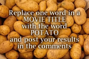 Potato game - online party games