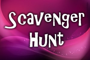 scavenger hunt for online parties