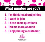 What number are you - Join Paparazzi jewelry