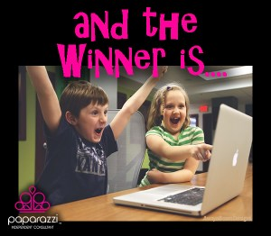 And the Winner Is - Paparazzi jewelry party graphic