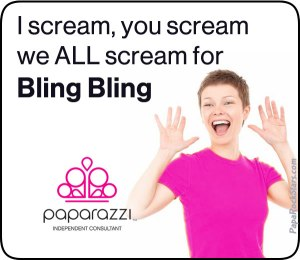 We all scream for Paparazzi Bling Bling